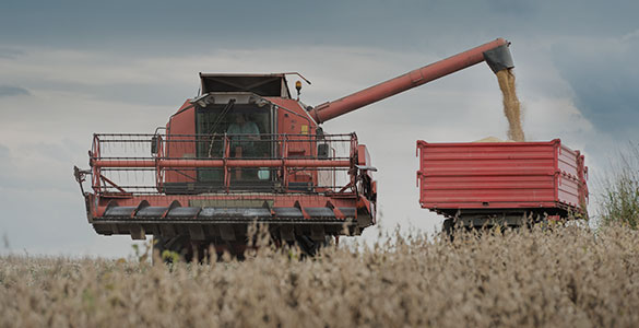 Monitoring maszyn rolniczych