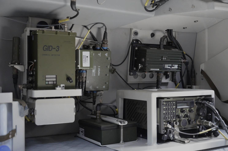 Próby portowe niszczyciela min ORP Kormoran z Hertz Systems