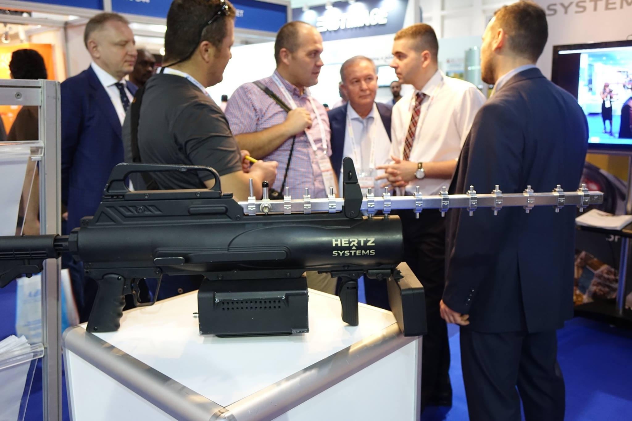 Hertz Systems na międzynarodowych targach bezpieczeństwa Intersec w Dubaju