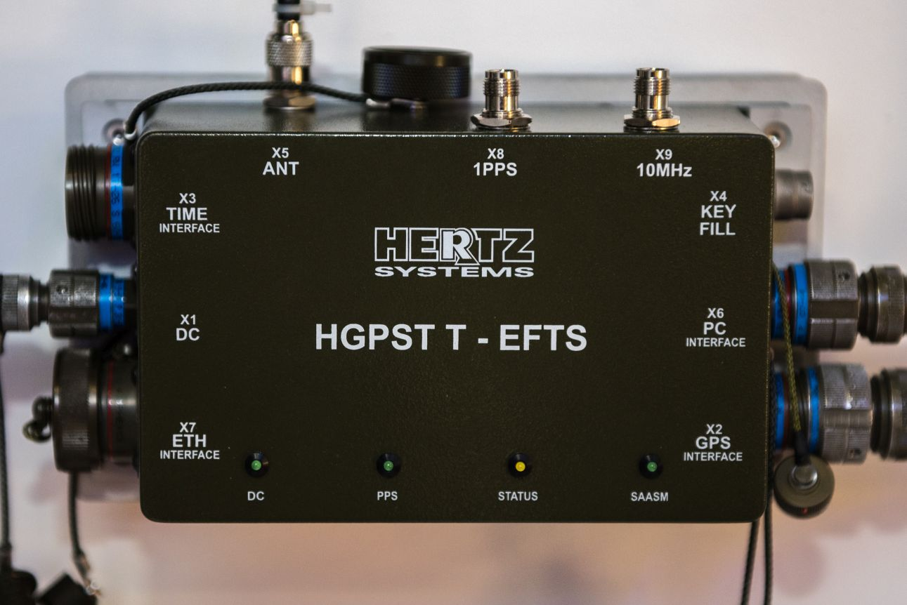 Hertz Systems delivers 1244 military platform GPS receivers with SAASM module to Polish Armed Forces